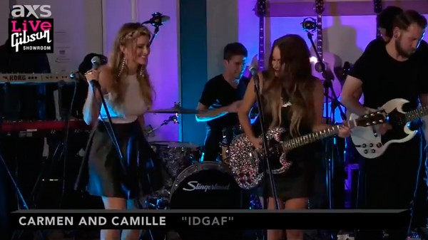 Carmen & Camille IDGAF AXS Live at Gibson
