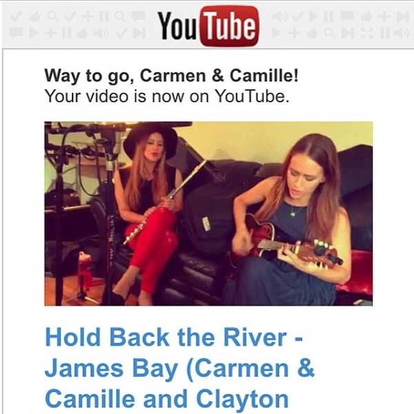 New video is up! Our rendition of James Bay's 'Hold Back The River' with @claytonseverson joining us. Link in bio